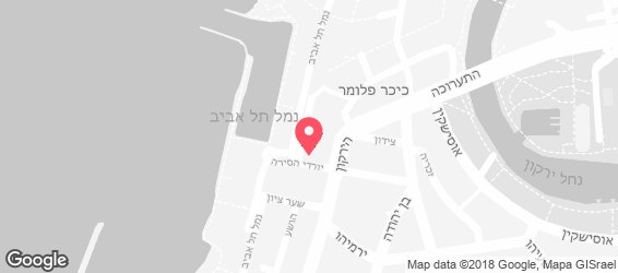 יוסף בית לאירועי בוטיק - מפה