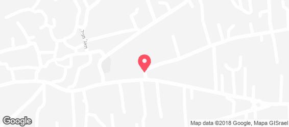 קייטרינג הכרם - מפה