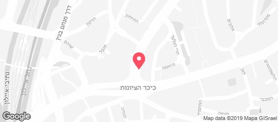 חומוס חמסה חמסה - מפה