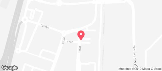 קייטרינג היצירה - מפה
