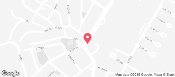 פינת ירושלמי - מפה