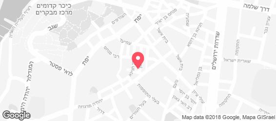 פארוק בשוק - מפה