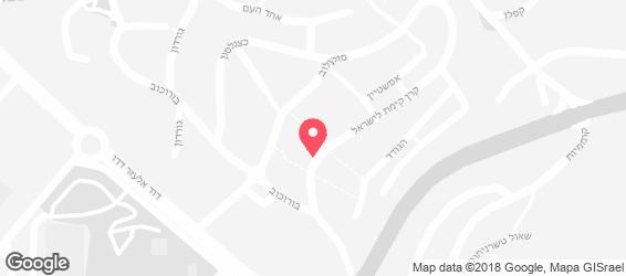 פיצריה ומאפיה-זוהר - מפה