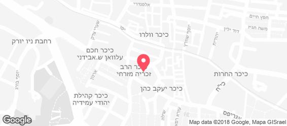 יודל'ה בר - מפה