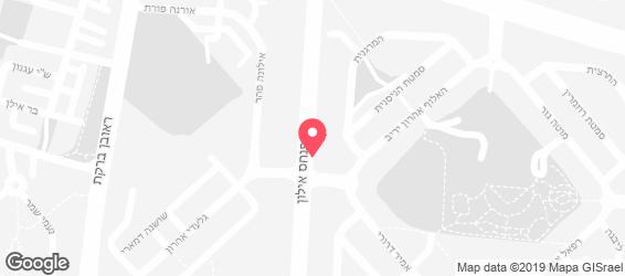 אצה - סושי בר - מפה