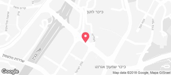 ציפורה אקספרס - מפה