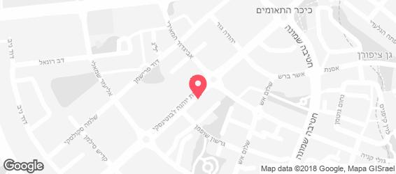 בית הפול באר שבע - מפה
