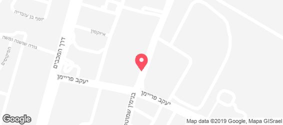 זהר הקייטרינג - מפה