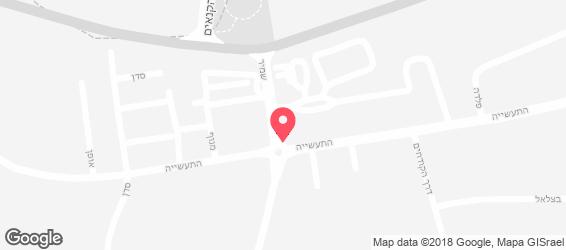 השניצליה - מפה