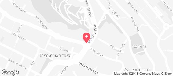 מירון בית מאפה חיפה - מפה