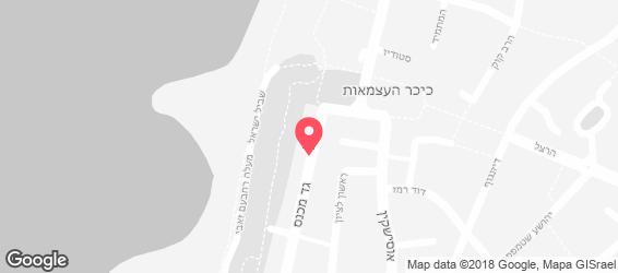 היקב  - מפה