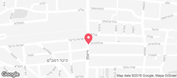 אורבן קיטשן - מפה