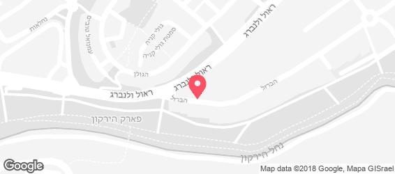 סביח פרישמן סניף רמת החייל תל אביב - מפה