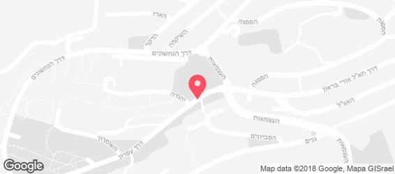 הלבנונית - מפה