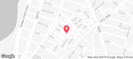 חומוס שלמה ודורון - מפה