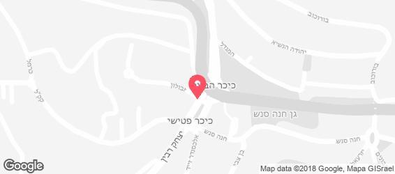 שיפודי ישראל - מפה