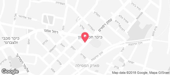 יוסף הדייג - מפה