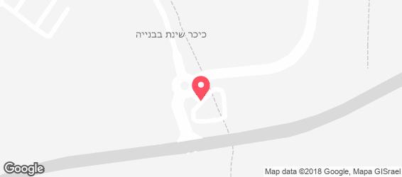 הכנענית - מפה