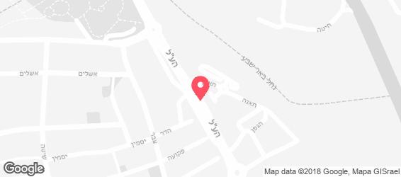 פלאפל שווארמה הכרם - מפה