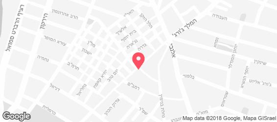 באזאר - מפה
