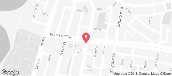 רום סרוויס - מפה
