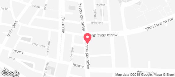 בריא- סלט ישראלי - מפה