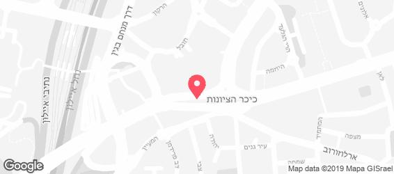 סיגלית שירותי קיטרינג - מפה