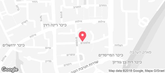 לחם ברויטמן - מפה