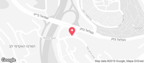 חובזה קייטרינג גורמה אורגני - מפה