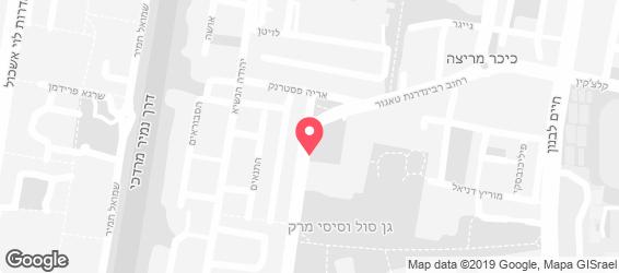 אהרל'ה - מפה