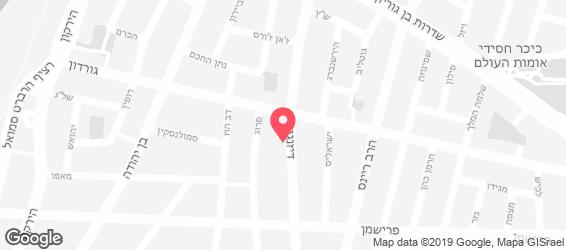 ארל'ה - מפה