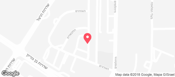 ראיחונה- בית האוכל הבוכרי - מפה