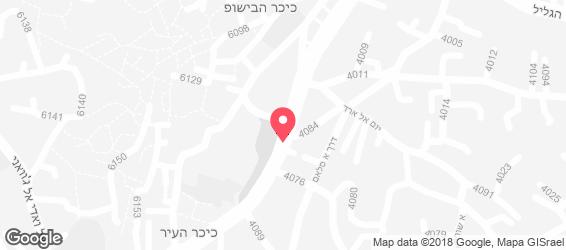 פלאפל ושווארמה האני - מפה