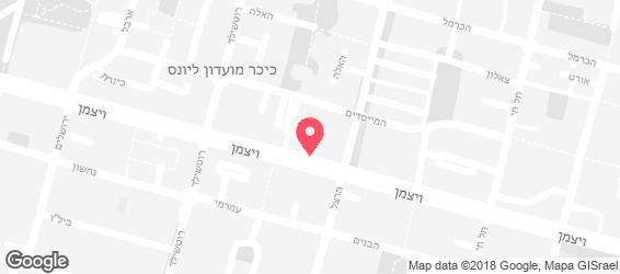 ברד אנד מרקט - מפה