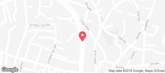 פיצה נאפולי - מפה