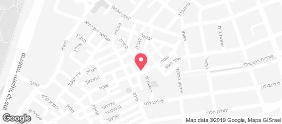 באקאפיקו - Beccafico  תל אביב - מפה