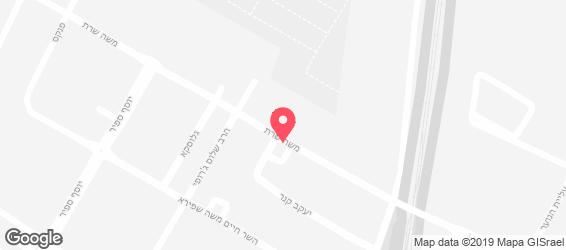 מפגשולה - מפה