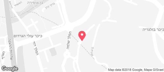 מאנקיס פיצה - מפה