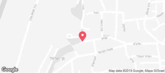אורטוריו - מפה