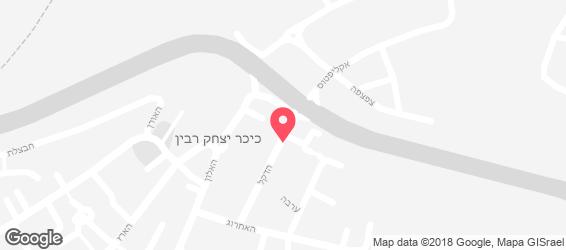 בנגקוק אקספרס - מפה