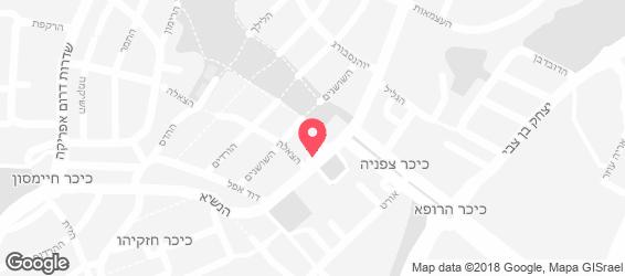 ברל'ה בית לאירועים - מפה
