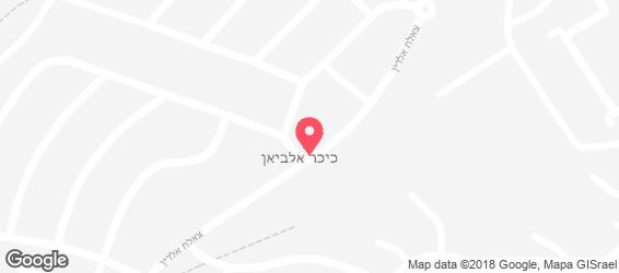 אל פאח'ר - מפה