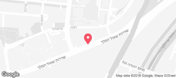 מונה תל אביב - מפה