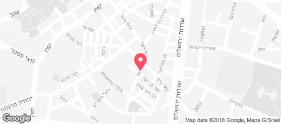 גלריה דוד חן - מפה