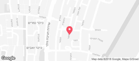גאלביס ג'חנון ביתי - מפה