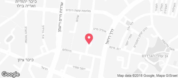 מפגש הבוריקה - מפה