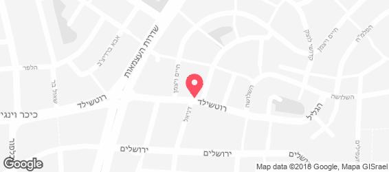 האופה מבגדד - מפה