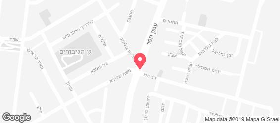סנדוויץ' כיכר העמק - מפה