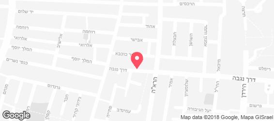 פרידמן- אוכל יהודי - מפה