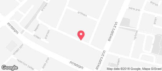דוש- גריל בשרים ישראלי - מפה